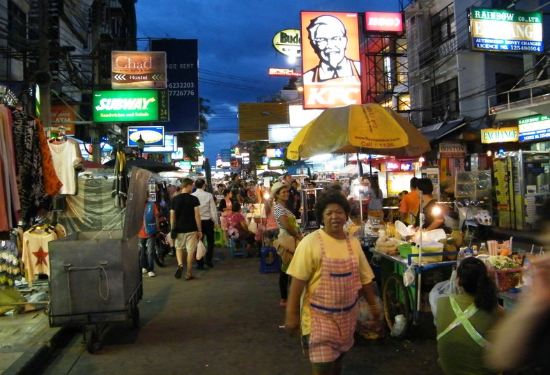 Khao San Road has played a big role in turning Bangkok into a backpacker mecca!