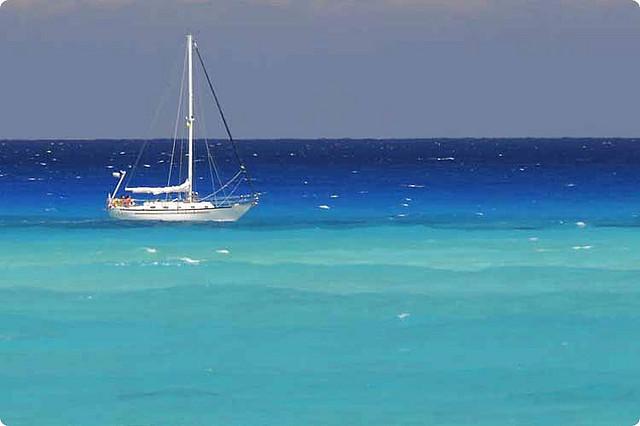 Bimini island in The Bahamas