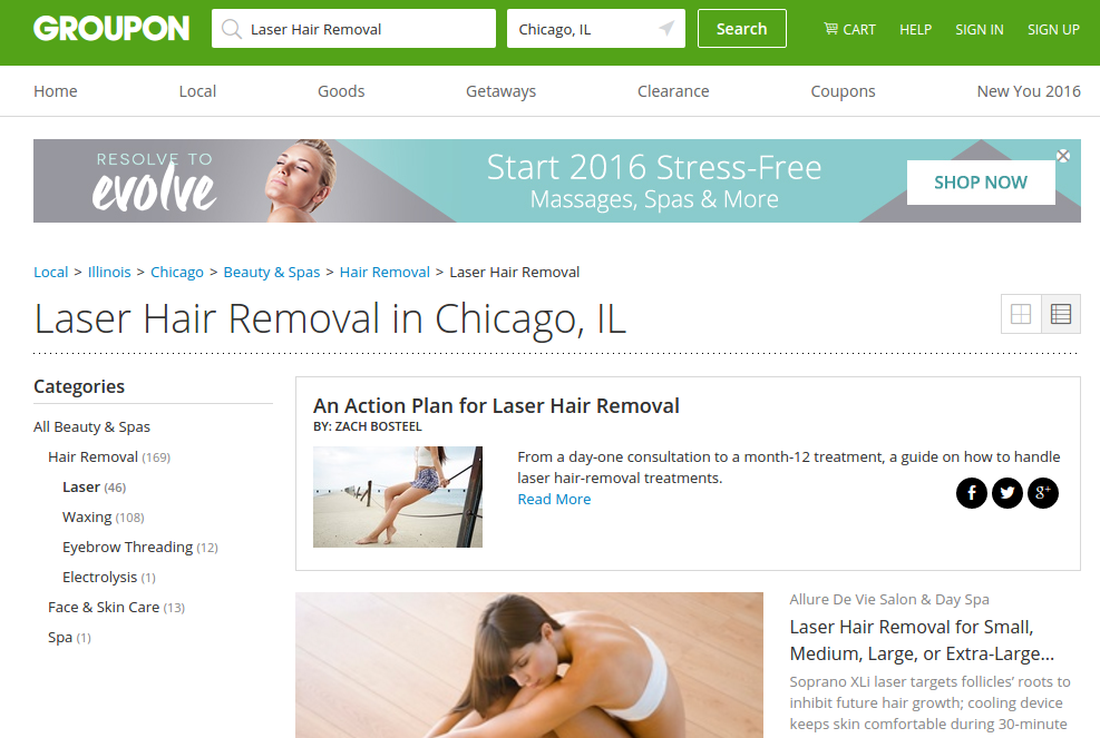 laser hair removal chicago